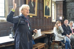 Katie, the guide on our walking tour, gave us good sense of what Oxford is all about.