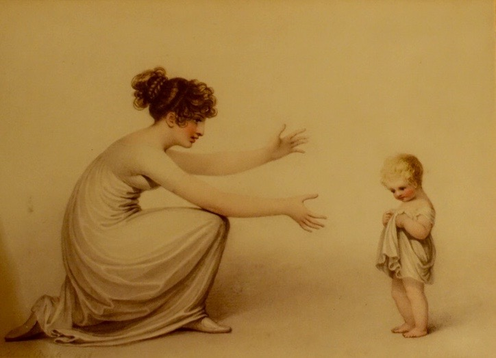 """First Steps in Life,"" 1808."
