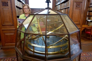 Ornery with the orrery at Queens College.