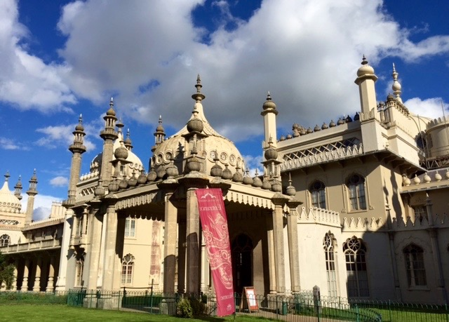 If you only have time to visit one thing: The Royal Pavilion in Brighton. (Photo by Kathy Triesch-Saul)