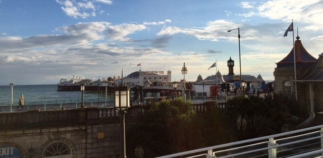 The Brighton pier. (Another photo from Kathy Triesch-Saul)