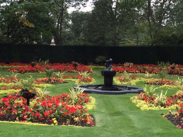 Regents Park in London.