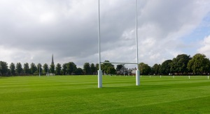 The Close at Rugby School, where the game began.