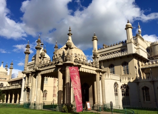 The exterior of Brighton's Royal Pavilion gives some clue to the magical magnificence inside.