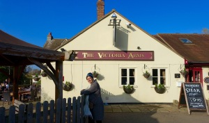The Victoria Arms pub.