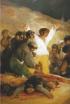 """Detail from Goya's painting the """"2nd of May,"""" from the book """"Goya: Painter of Terror and Splendour."""""""