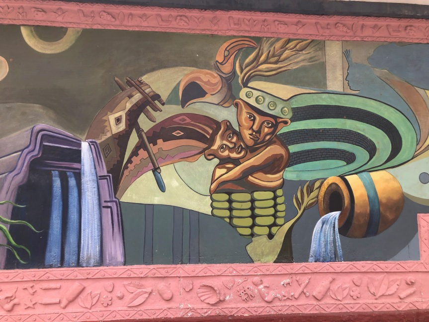 Corn mural