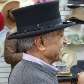 Jay in top hat