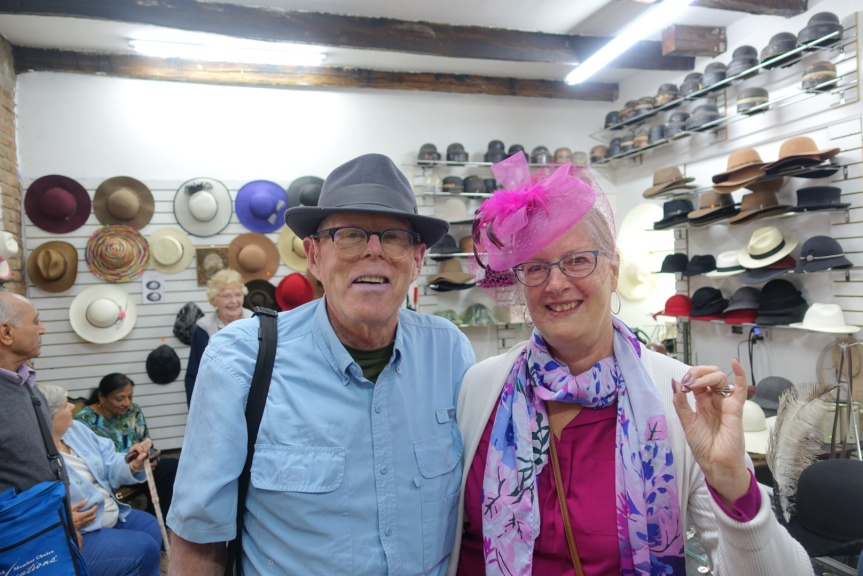 Us in hats