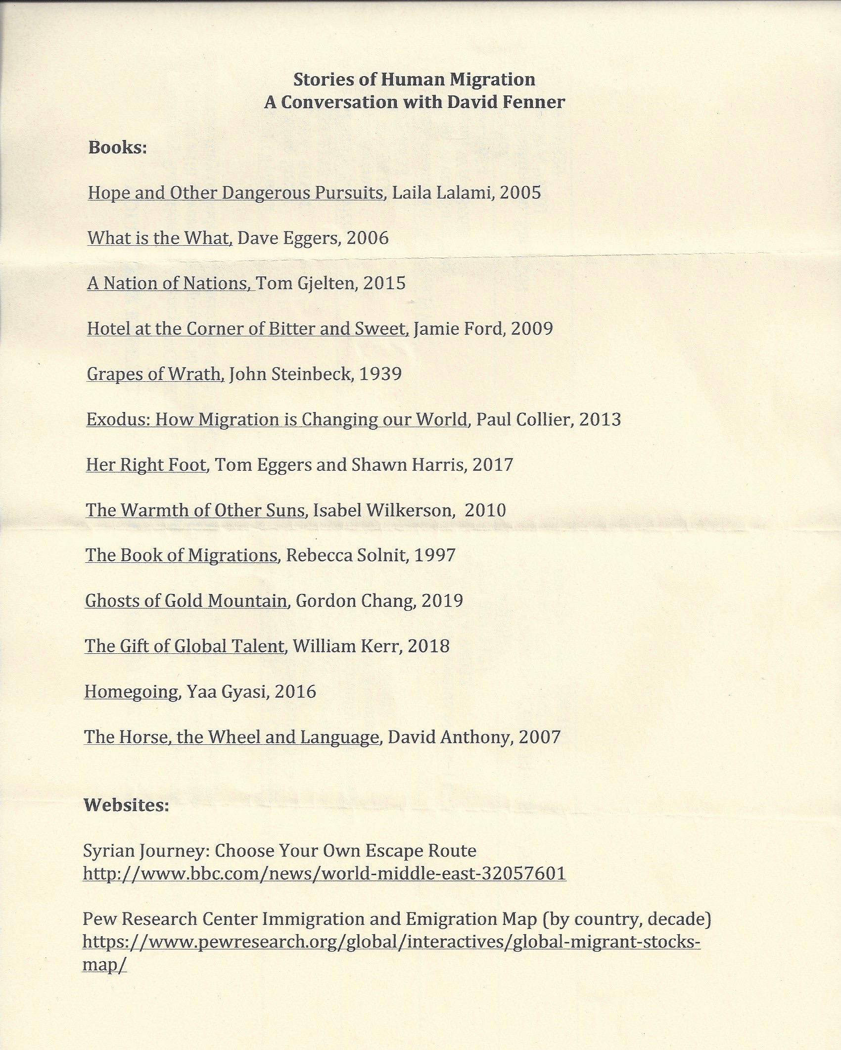 Fenner books